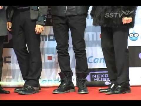 111231 MBC Gayo Daejun Red Carpet - Super Junior SSTV