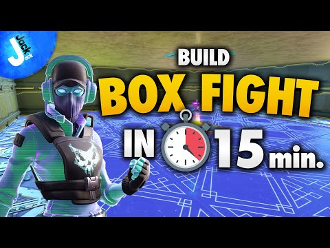 How To Build BOX FIGHT In 15 Minutes | Fortnite Creative Mode Therapy