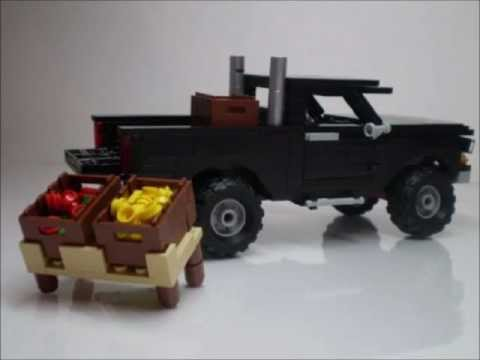 how to build a cool lego car