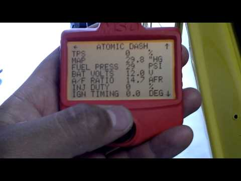 Msd atomic efi install (cj7) (video 3)