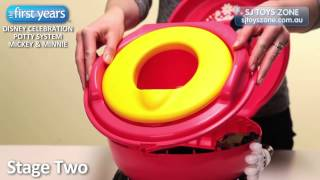 Disney Baby MICKEY MOUSE & MINNIE MOUSE Celebration Potty System from The First Years