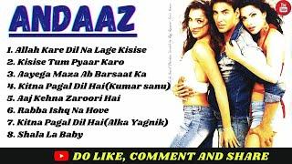 Andaaz Movie Songs  Akshay Kumar, Priyanka Chopra,Lara Dutta  ALL HITS   Superhit 90s Songs Jukebox
