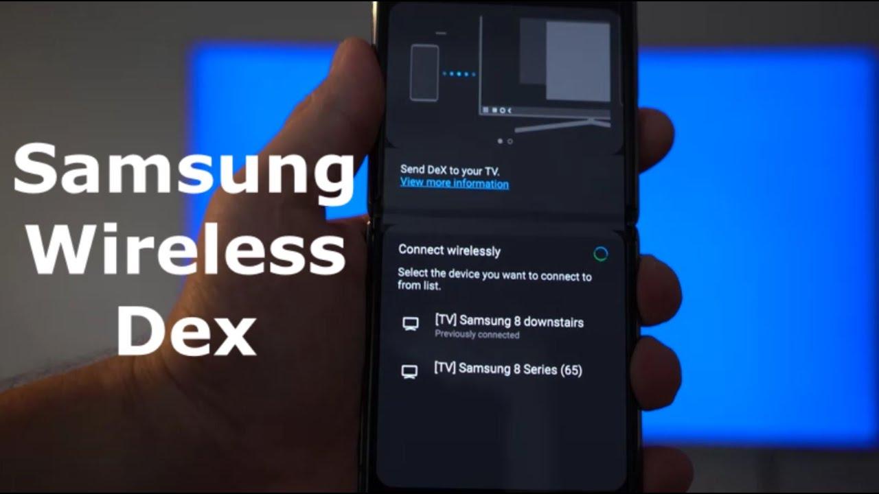 Samsung WIRELESS DEX - First Look | Hands On