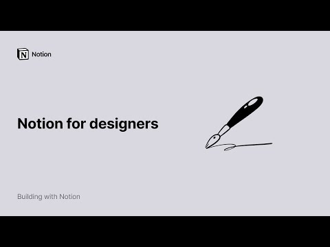 Notion for designers