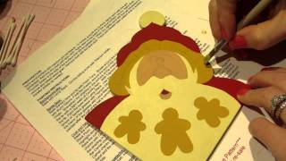 Decorative Painting Tutorial; Santa's Cookies Part 1