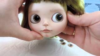 Choosing Eye Chips for a Custom Blythe Doll
