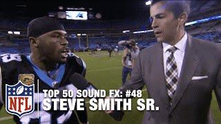Top 50 Sound FX   #48: Steve Smith Tells Aqib Talib 'Ice Up, Son'   NFL
