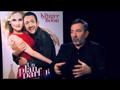 """Interview Diane Kruger, Dany Boon et Pascal Chaumeil pour le film """"Un plan parfait"""""""