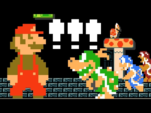Super Mario Bros  FanGame Development ShowCase 170212