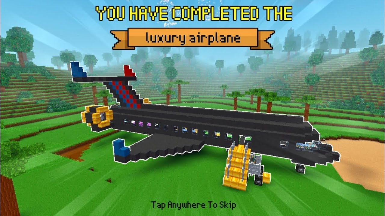 Block Craft 3D: Building Simulator Games For Free Gameplay #1141 (iOS & Android)| Luxury Airplane✈️
