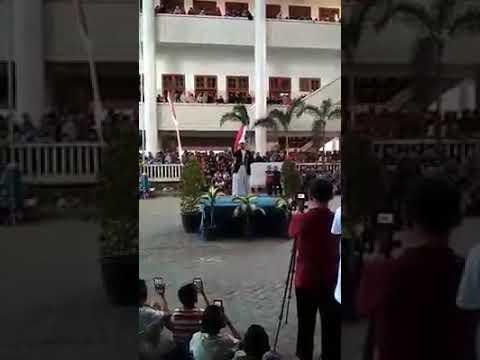 Adzan Calon Penerus Bapak Sabiq, Ponpes Walibarokah Kediri