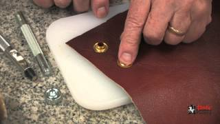 Installing Eyelets And Grommets On Leather