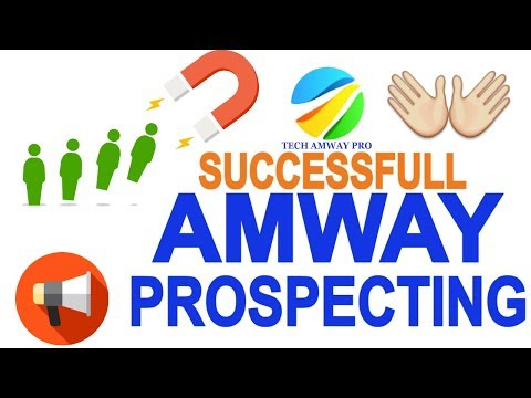 How To Prospecting In Amway ? Amway Prospecting Steps And Tips mlm  passive income opportunities