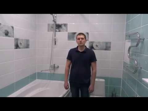Ремонт в ванной комнате в Оренбурге 05.2016