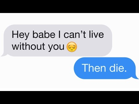 The 10 Best Responses To Flirty Texts