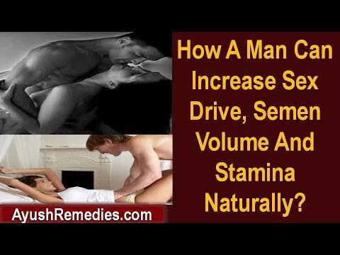 during increase orgasm semen