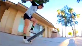 GIRL HAS PERFECT 360 FLIPS!! (Tre flip) | Skate Submit #8