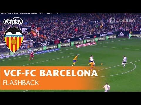 LOS MEJORES GOLES AL FC BARCELONA | VALENCIA CF