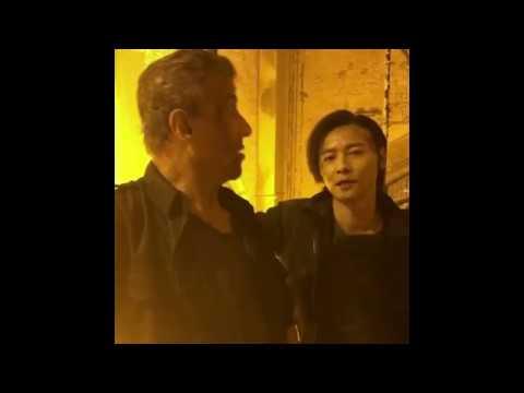 ESCAPE PLAN 3 - L'ULTIMA SFIDA - Sylvester Stallone E Max Zhang Sul Set