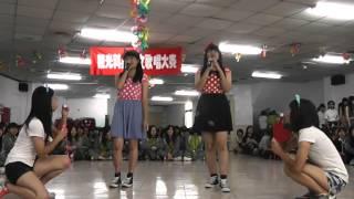 101學年度英日文歌唱比賽05 Love Song  (觀二愛 英文團體組 演唱第二名)