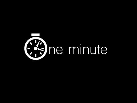 One Minute (Full Original Short Film)