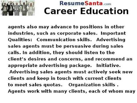 How to Become an Advertising Sales Agent - Career Education - YouTube