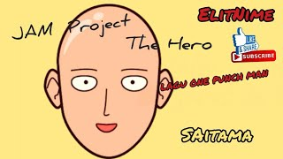 Lagu One punch man [video] Jam Project - THE Hero!! - ElitNime