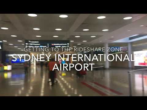 How To Get To Your Uber In Sydney International Airport