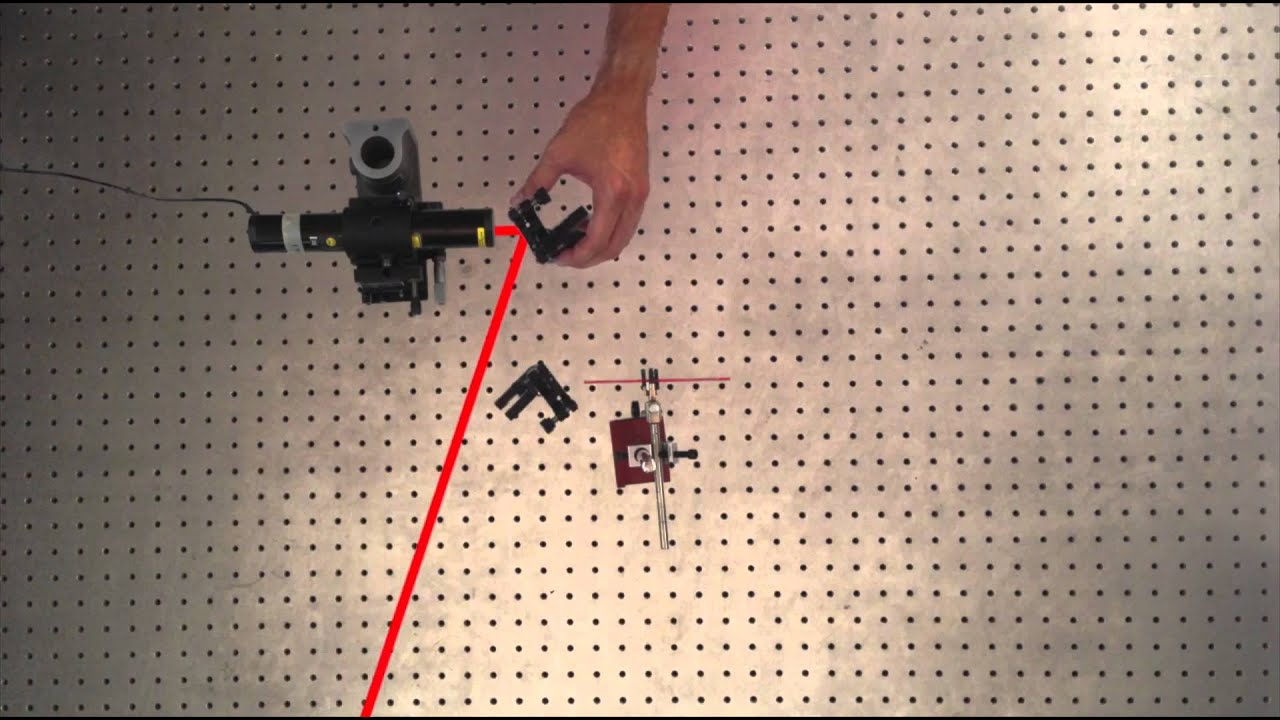 laser alignment theory Aligning a laser beam can pose many challenges, but knowing certain tips and   for instance, the first step in aligning a laser beam is to ensure that the beam is   learn more about beam expander theory and design to help you get started.