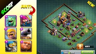 BUILDER HALL 5 BASE | DESIGN WHAT GOT ME TO 3,000 | 1,000 GEM REWARD - Clash Of Clans