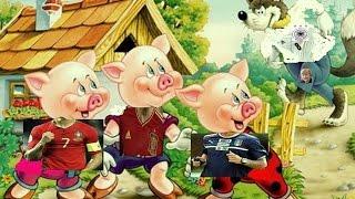 Desenho Infantil - Os Três Porquinhos Dublado