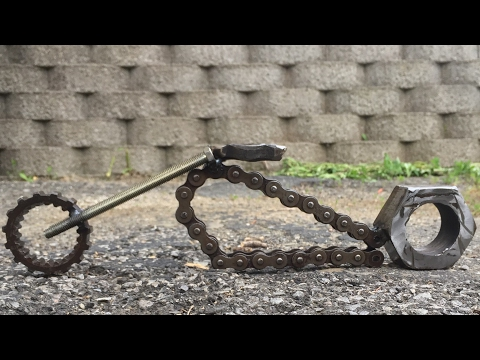 How To Weld A Chopper Style Motorcycle Out Of Scrap Metal By BarbieTheWelder