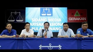 Penang BN to announce candidates early next week