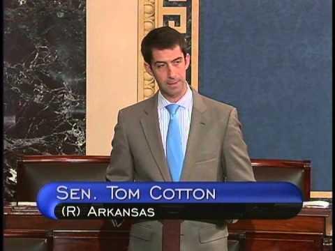 September 16, 2015: Senator Cotton