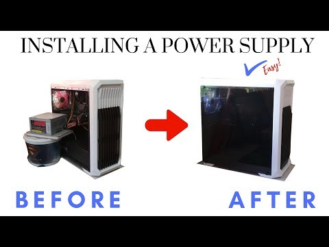 How to install a Power Supply easily