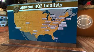 Amazon's hunt for its 2nd HQ shows the power of tech companies