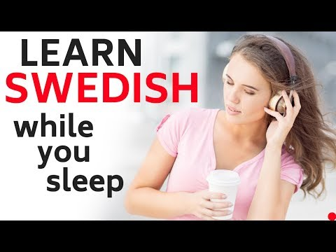 Learn Swedish While You Sleep 😴 Daily Life In Swedish 💤 Swedish Conversation (8 Hours)