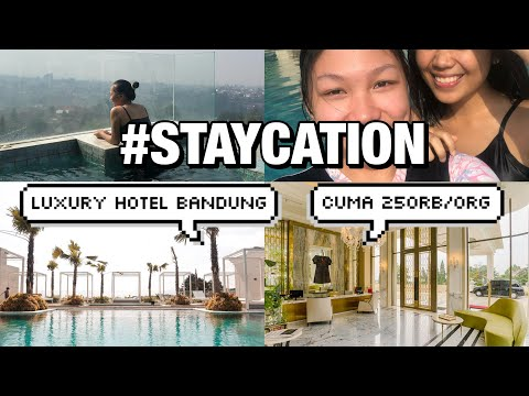 TIPS #STAYCATION MURAH / QUICK TOUR OF ART DECO LUXURY HOTEL BANDUNG
