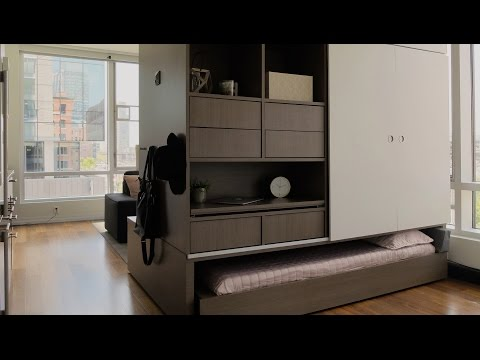 Yves Béhar and MIT's Ori device reconfigures small apartments on YouTube