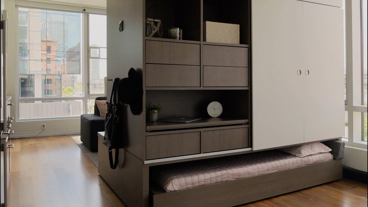 MITu0027s Ori Robotic Furniture Reconfigures Tiny Apartments