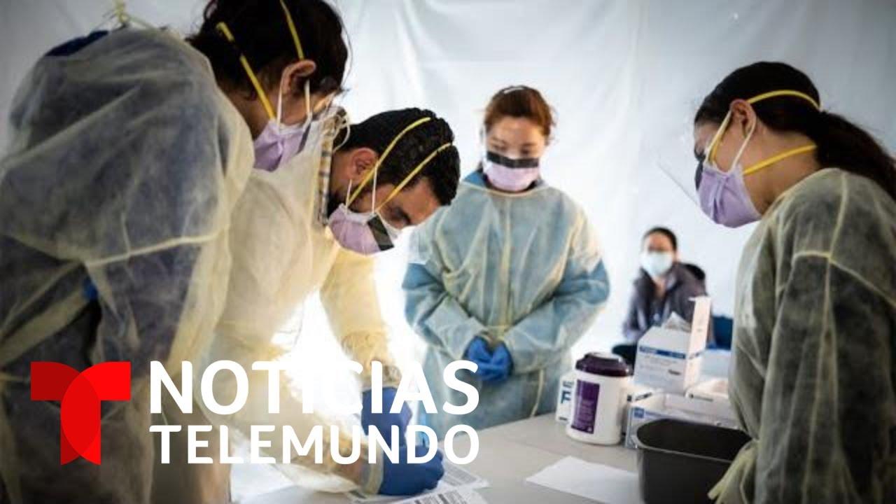 Noticias Telemundo: Coronavirus, un país en alerta, 10 de abril 2020 | Noticias Telemundo
