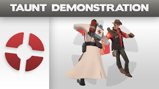 Taunt Demonstration: Square Dance