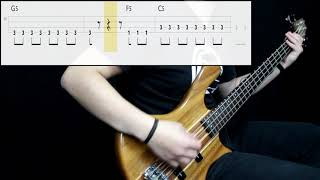 Blink-182 - All The Small Things (Bass Cover) (Play Along Tabs In Video)