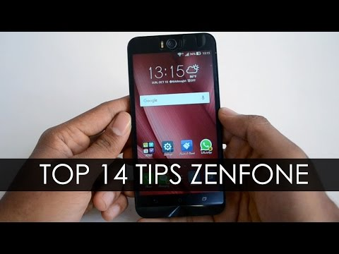 Top 14 Tips in Asus Zenfone 2  Selfie , Laser with Zen UI