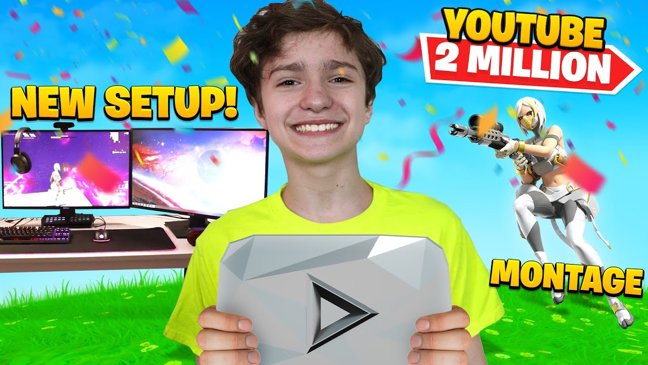 THANK YOU FOR 2 MILLION SUBSCRIBERS!! *MONTAGE AND NEW SETUP*
