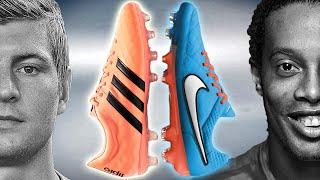 ronaldinho vs kroos boot battle nike tiempo 5 vs adidas 11pro test review
