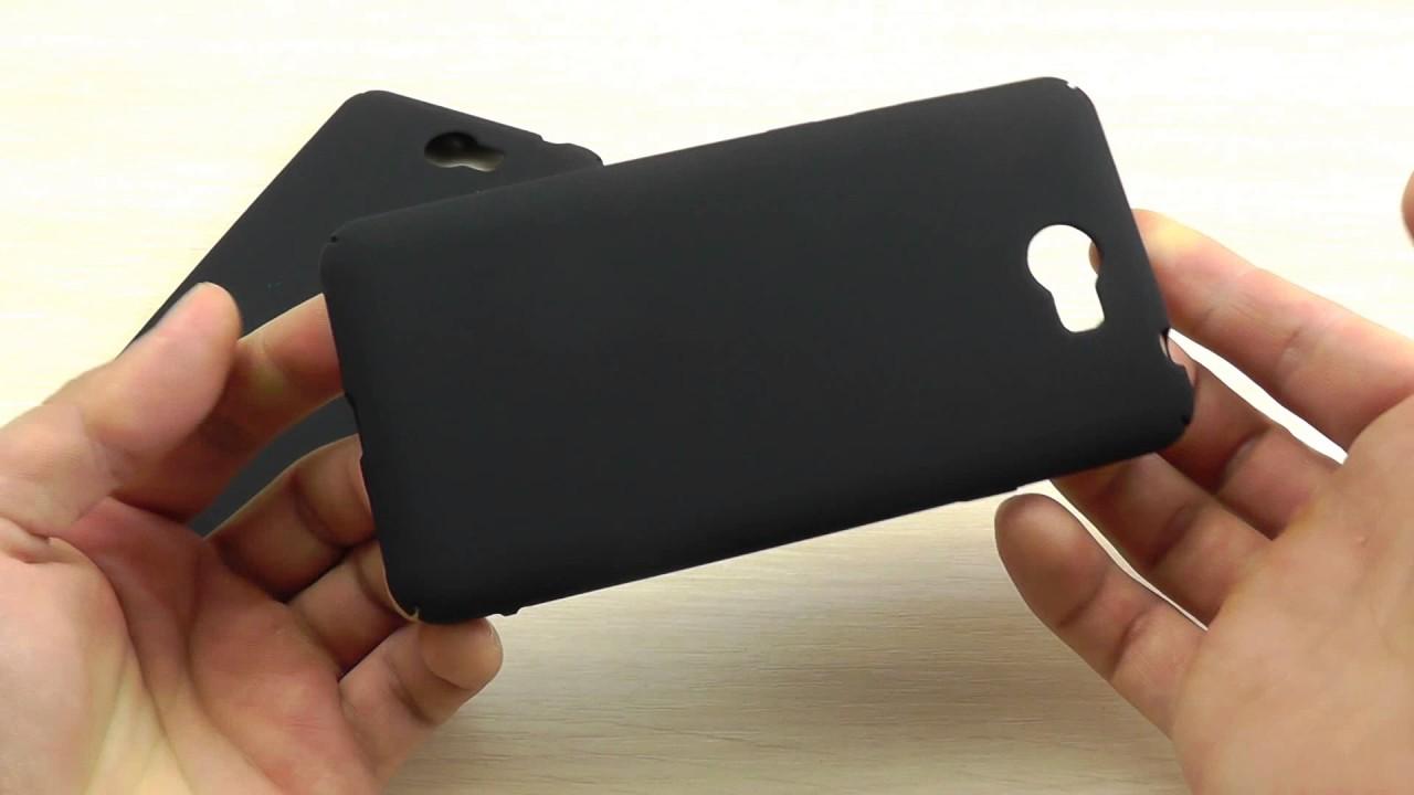 ОБЗОР: Силиконовый Чехол-Накладка для Huawei Y3 II серия