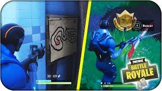 LOCATION MAP OF THE SECRET TREASURE LORD OF THE SALT! FORTNITE: Battle Royale - Rubenillo17
