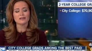 KGTV SD - San Diego City College grads are among the best paid two-year-college grads in the U.S.