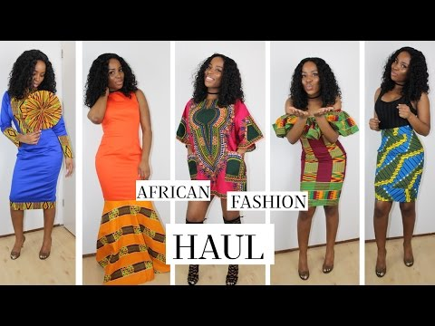 SUMMER/SPRING GHANA (AFRICAN) FASHION HAUL 2017 | TRY ON & DETAILS